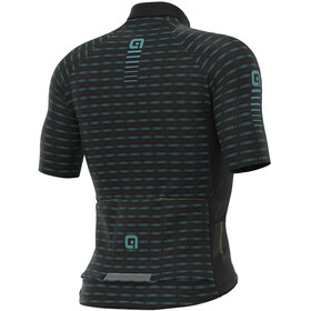 Alé Cycling Graphics PRR Green Road Maillot Manches courtes Homme, black/turquoise